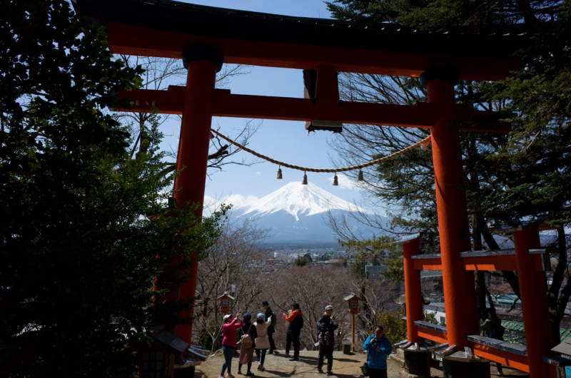 Mt. Fuji is the object of worship for Shinto in Japan. It's one of the reasons why Mt.Fuji is designated as UNESCO's World Cultural Heritage Site.