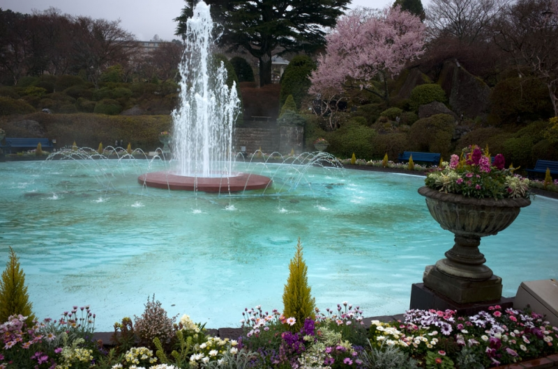 Gora park. There are a lot of beautiful parks and museums in Hakone.