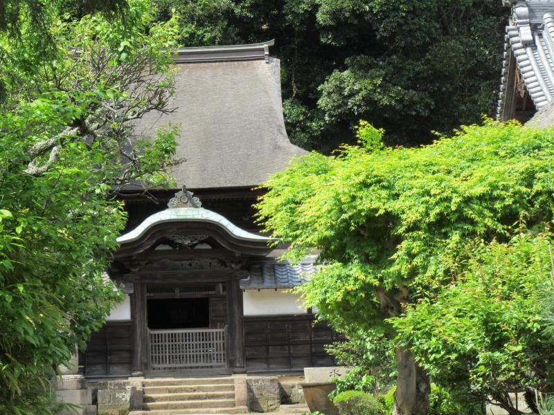 Shariden, or a reliquary hall at Engaku-ji temple