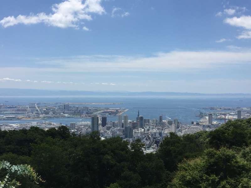 View from Nunobiki Herb Garden
