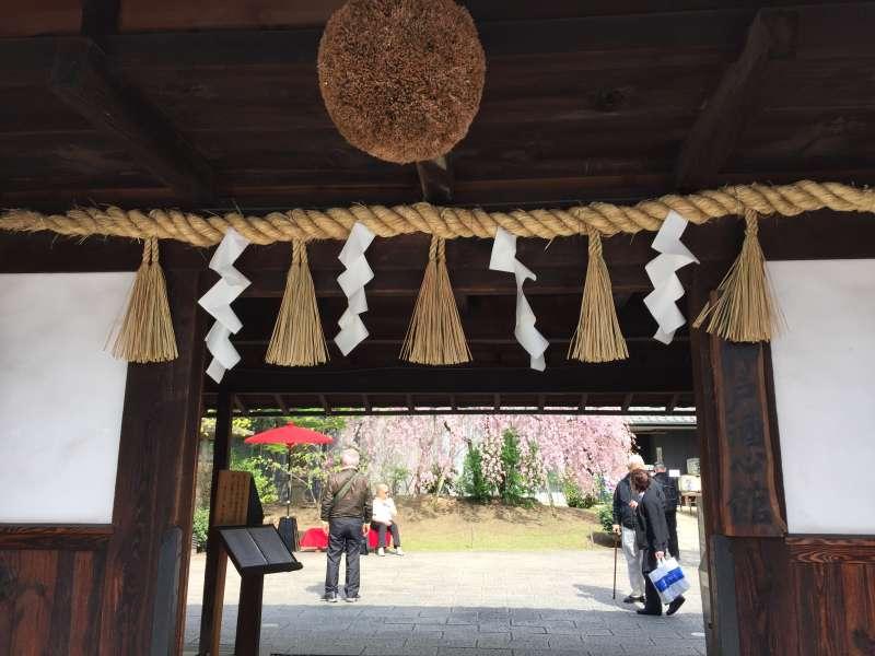 Entrance of Sake Brewery
