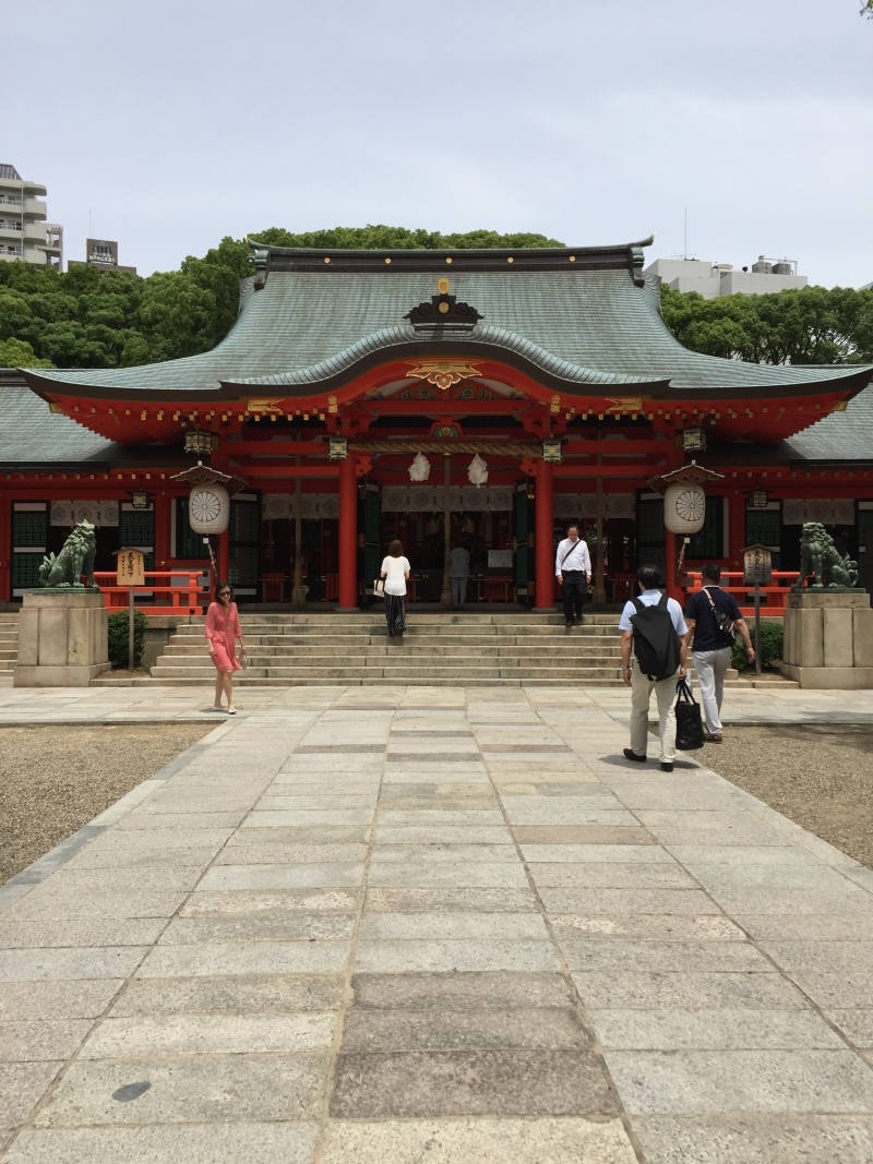 Ikuta Jinjya Shrine