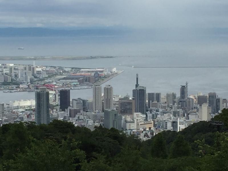 View from Kobe Nunobiki Herb Garden