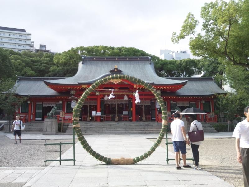 Main Hall of Kikuta Jinja Shrine