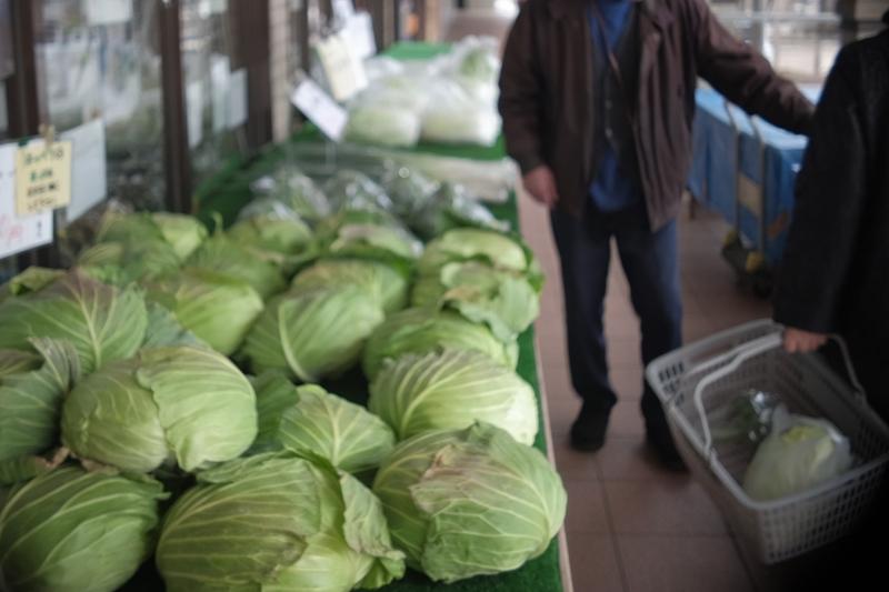 Local food market adjacent to Asagiri Food Park