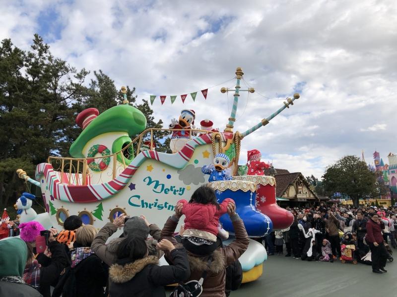 Daytime Parade show.
