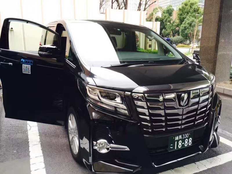 Our vehicle (Alphard)