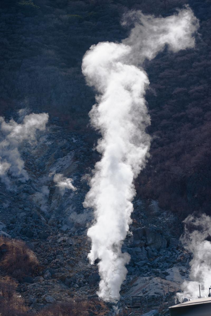 Volcanic steam vent, Hakone