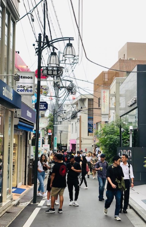 Back street of Harajuku