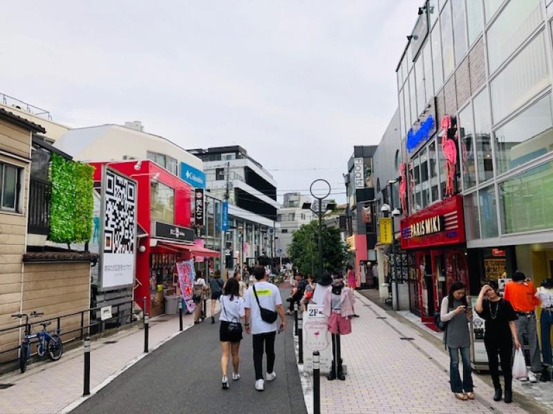 Back street of Omotesando