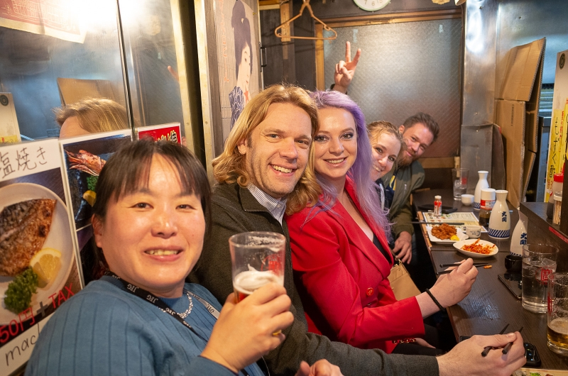 If you love drinking, Omoide yokocho (memory lane) in Shinjuku is the place to grab a drink.