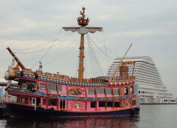 Kobe cruising Ship