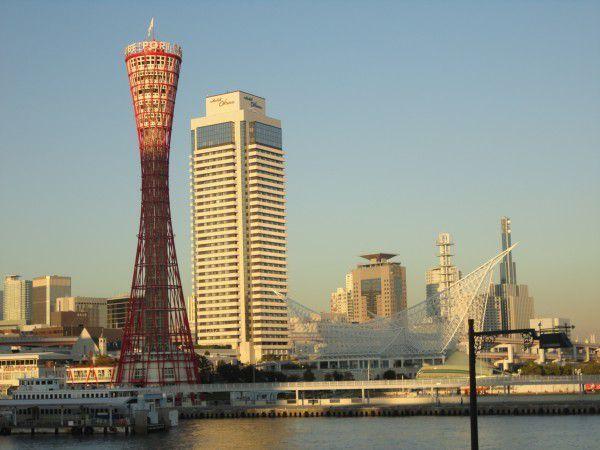 Red Port Tower of Kobe    Hotel Okura and Kawasaki Marine Museum
