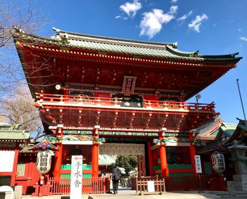 """Sano Hie Jinjya"" Shrine in the center of Tokyo"