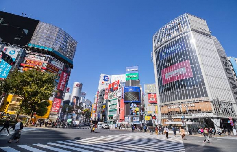 Shibuya the busiest and the most popular district for younger generations