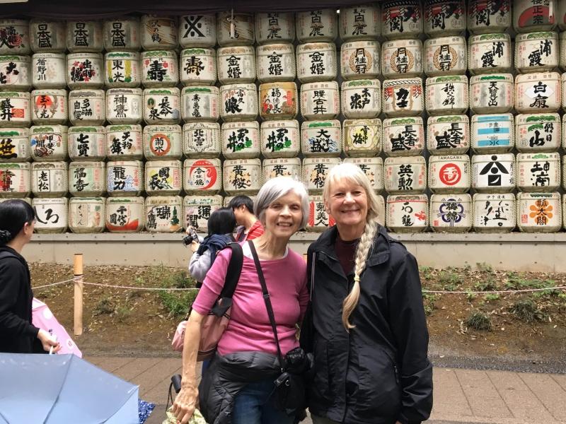 A photogenic spot at Meiji Shrine.