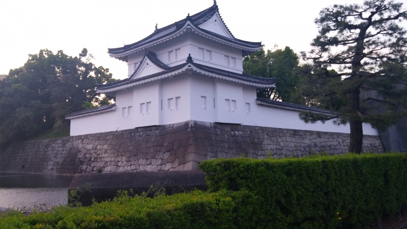 < B course > Nijo castle (Choice)