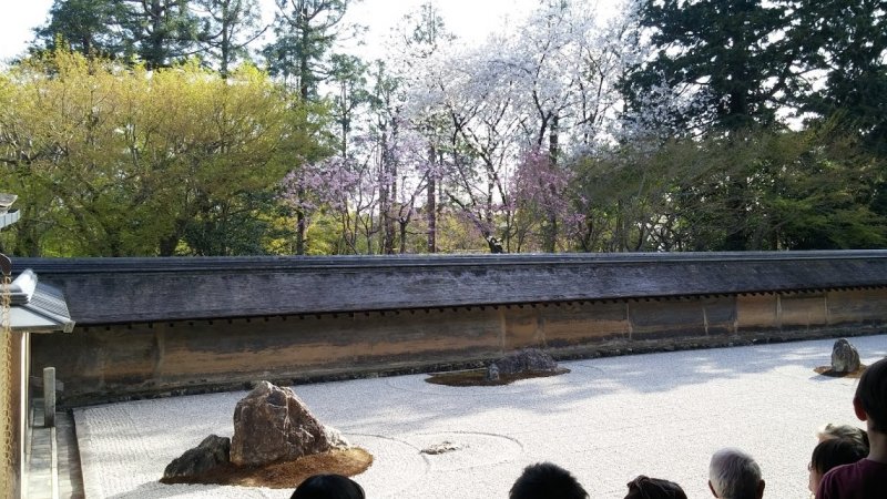 < B course > Ryoanji temple (Choice)
