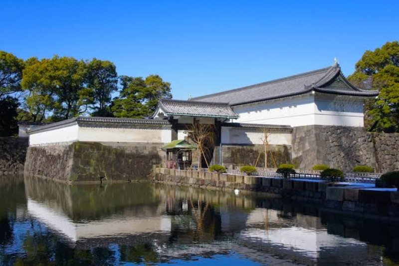 """""""Ootemon"""" the main gate of the Eadt garden of the Imperial Palace"""