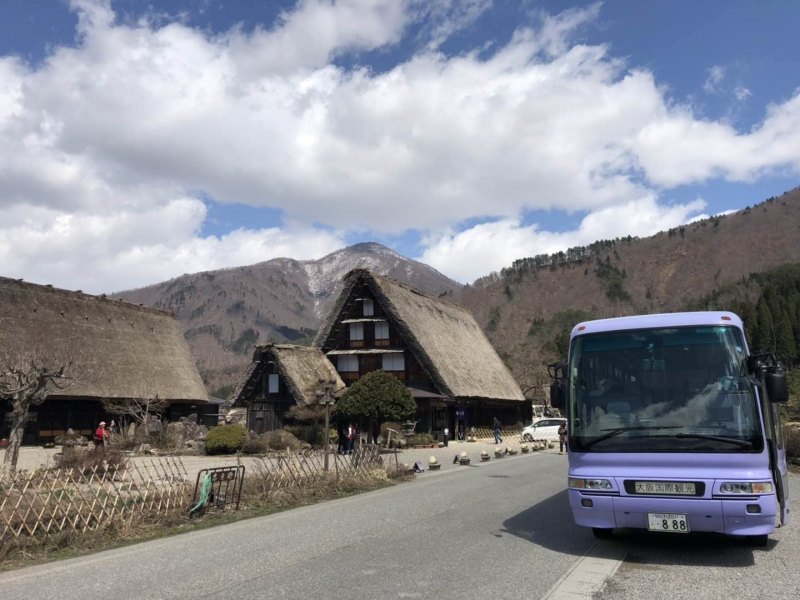 8 hour Osaka - Kyoto Tour with a Medium Bus (up to 25 persons)