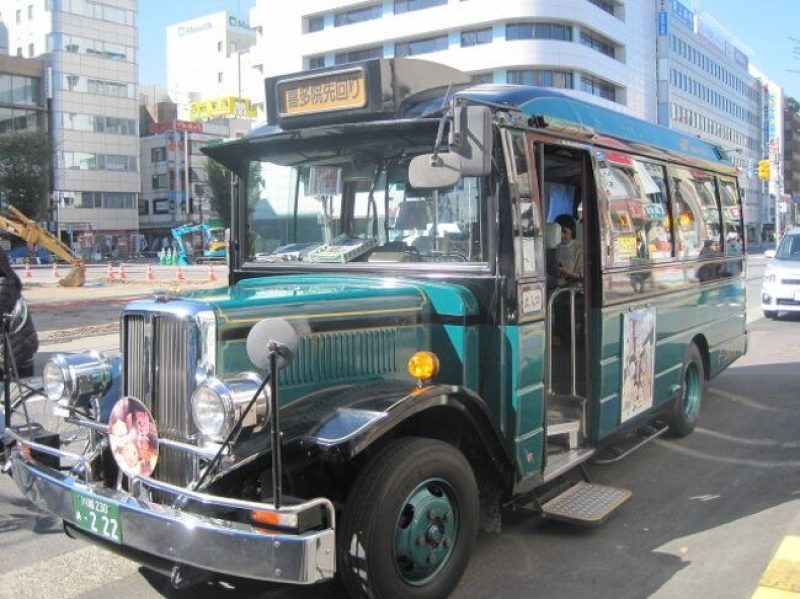 Kawagoe Retro Loop Bus