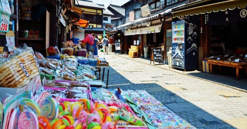 Kawagoe Kashiya Yokocho Street