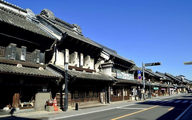 Kawagoe Koedo Kurazukuri Street (Old Storehouse area)