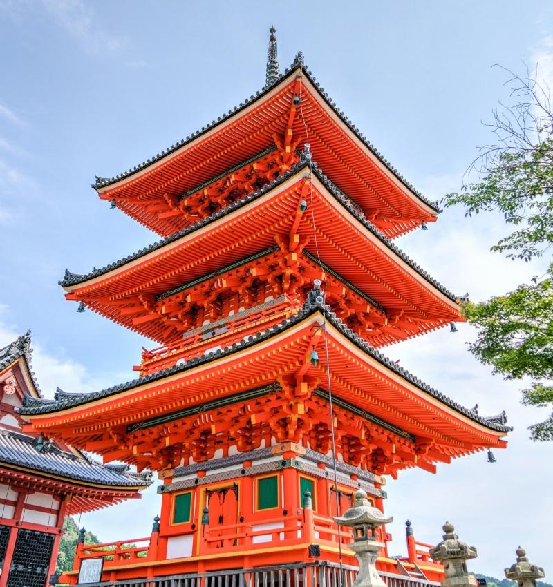 Kiyomezu dera temple Pagoda