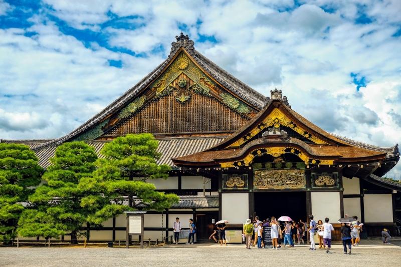 Nijo castle ninomaru palace