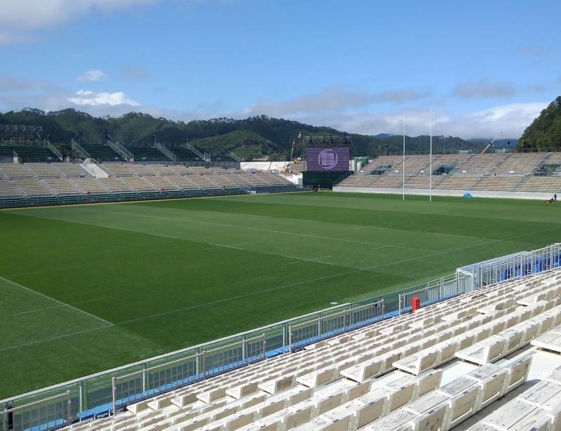 Kamaishi Recovery Memorial Stadium.