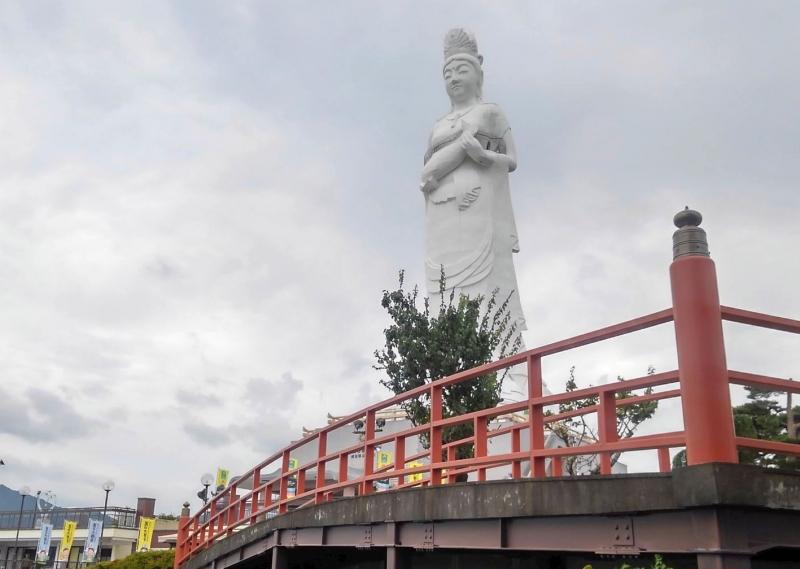 Kamaishi Dai-Kannon Statue.