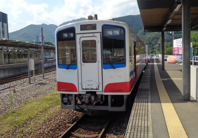 We will use Sanriku Railway to get to the staduim.