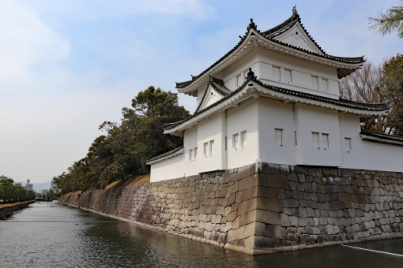 Nijo Castle...Gorgeous palace consisting of six connected buildings with its interior decorated with wall paintings, carved transoms and metalwork fittings, which shows Shogun's power over feudal lords, and a Japanese garden