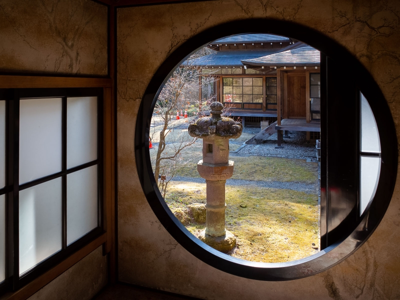 (option) Tamozawa Imperial Villa. You can enjoy the finest Japanese style architecture used by Imperial Family.