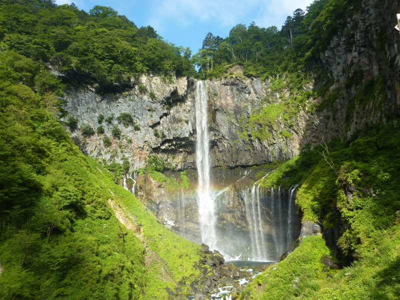 (+1H option) Kegon Falls - not available in autumn foliage season due to heavy traffic congestions.