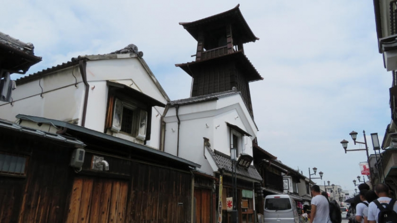 The symbol of Kawagoe - Toki no Kane Bell Tower