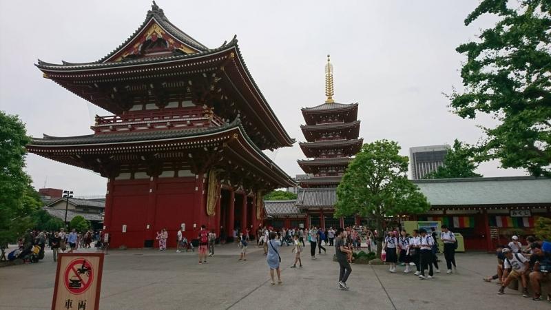 Sensoji at Asakusa