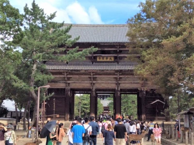 The Nandai-Mon Gate, the entrance of Todaiji temple