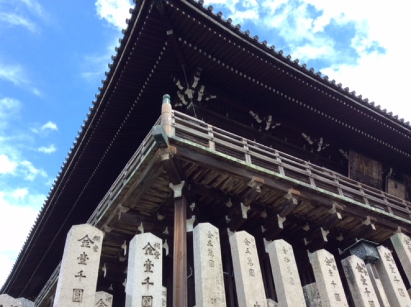 Nigatsu-do Hall in Todaiji Temple