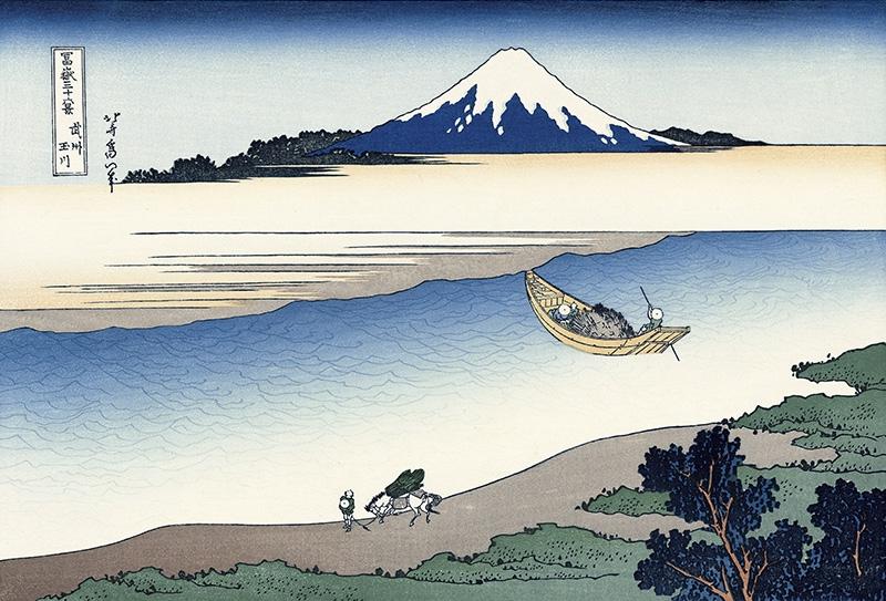 One of Katsushika Hokusai's masterpiece
