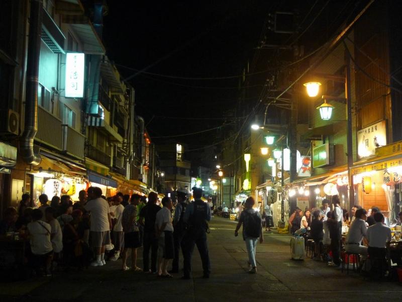 Hoppy Street in Asakusa. Hoppy is a national alcholic beverage of Japan.
