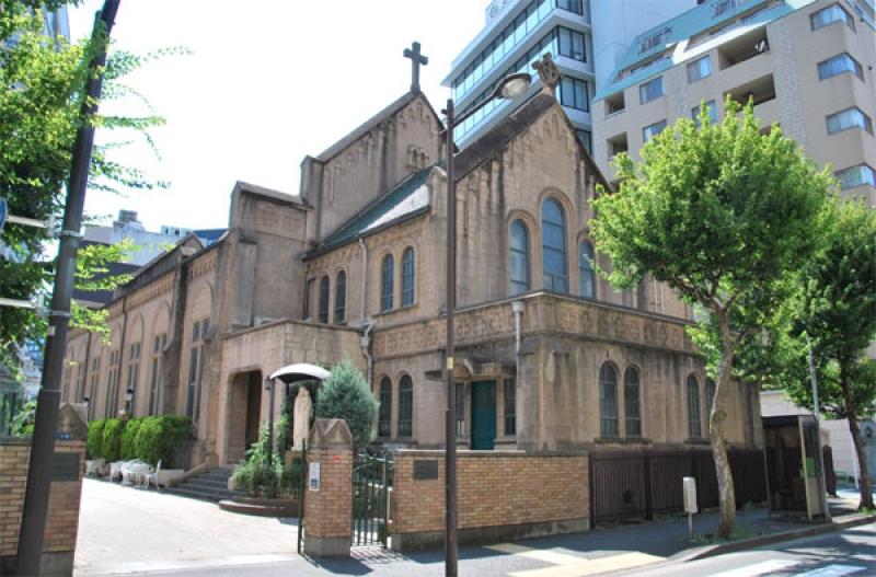 The historically-significant Kanda Catholic Church