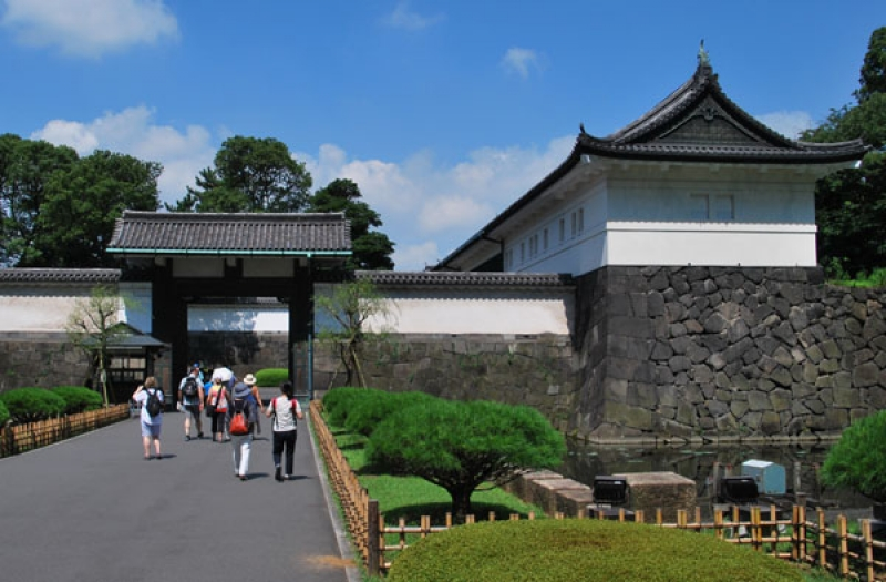 Entrance Gate of the Imperial Palace
