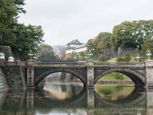 Doppelbrücke vom Kaiserpalast (Nijuu-bashi of Imperial Palace)