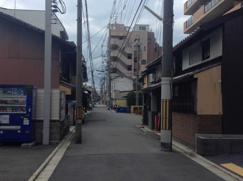 Ichijou street is a quiet and historical street.