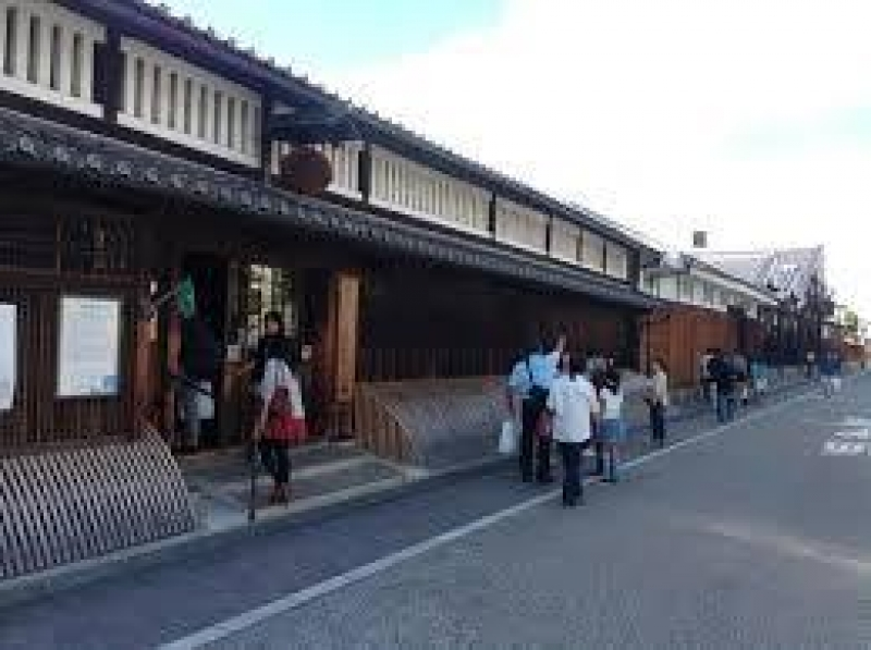 Fushimi sake brewery with its museum