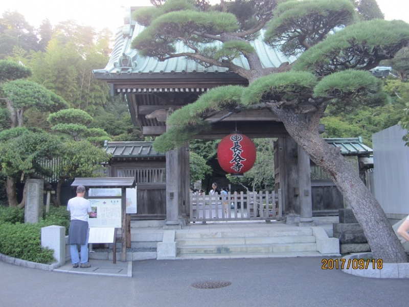 Hasedera temple:Famous for its 11-headed Kan-non Bosatsu statue.