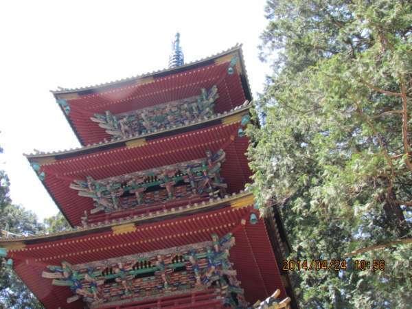 Five-story pagoda at Nikko Toshogu
