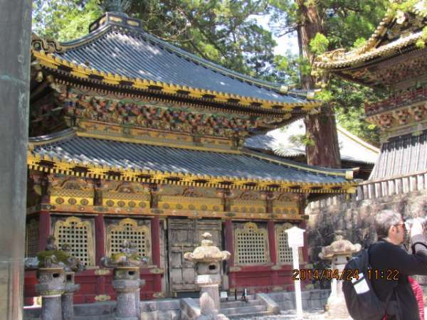 Rinzo at Nikko Toshogu