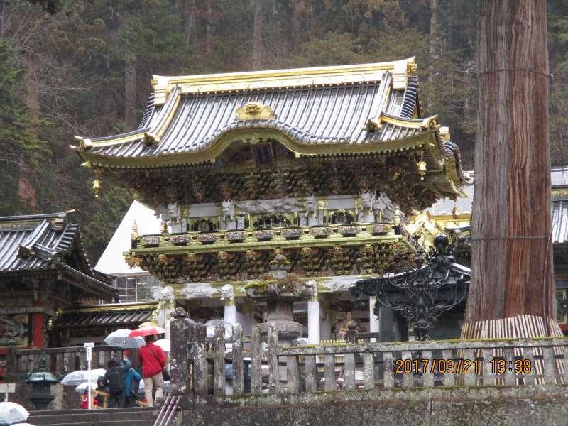 Yomeimon Gate at Nikko Toshogu